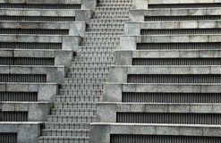 Concrete steps. Full frame pattern of concrete steps stock image