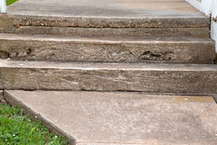 Concrete Steps Stock Photo