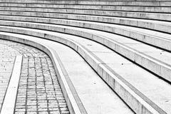 Concrete steps Stock Images
