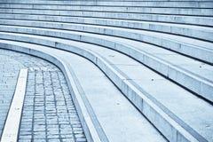 Concrete steps Stock Photos