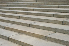 Concrete Steps Stock Photography