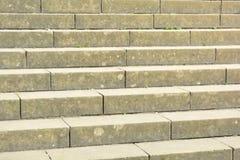 Concrete steps. A set of concrete steps Stock Photo