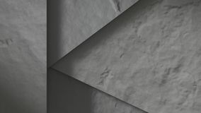 Concrete stones abstract. 3D Render vector illustration