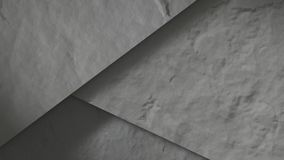 Concrete stones abstract. 3D Render royalty free illustration