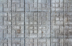 Concrete street block Pattern Background Royalty Free Stock Photography