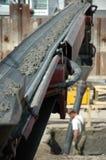 Concrete strip Royalty Free Stock Image