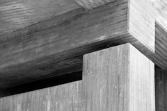 Concrete structure. With multiple angles Royalty Free Stock Photos