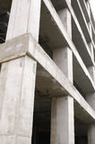 Concrete structure. Concrete building structure royalty free stock photos