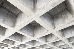 Concrete structure ceiling Stock Photography