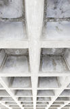 Concrete structure ceiling Royalty Free Stock Photography