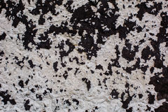 concrete surface with black bitumen texture Royalty Free Stock Photos