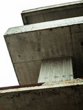 Concrete surfaces of the unfinished building Royalty Free Stock Photo