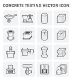 Concrete testing icon Stock Photo