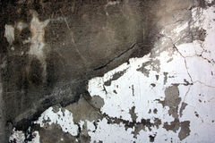 Concrete Texture. Close up of concrete wall with peeling paint royalty free stock images
