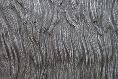 Concrete texture decorative surface on wall Stock Photography