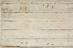 Concrete texture with trails of planks Royalty Free Stock Image