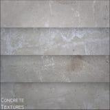 Concrete textures. Set of four square vector concrete textures Stock Photography