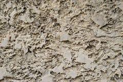 Concrete Textuur Gele Horizontaal Royalty-vrije Stock Foto
