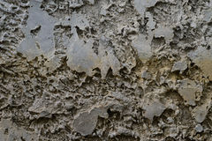 Concrete Textuur Grey Yellow Horizontal Royalty-vrije Stock Foto