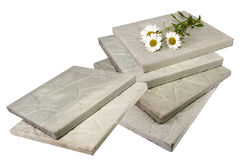 Concrete tile. Royalty Free Stock Photos