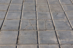 Concrete tile for outdoor use Sidewalks, non-slip and wear resistance paving Stock Photos