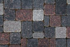Concrete tile texture. City pavement background. Abstract stone brick pattern. Street sidewalk texture.  stock photo
