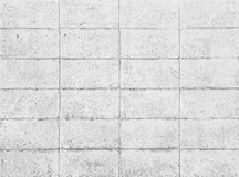 Concrete tile wall Stock Photo