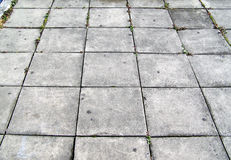 Concrete tiles background Royalty Free Stock Photos