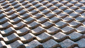 Concrete tiles from closes Stock Image