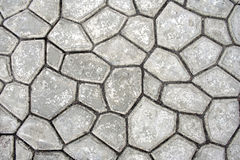 Concrete tiles royalty free stock photography
