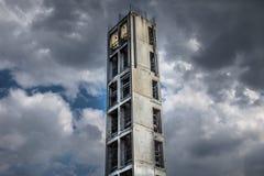Concrete Tower Construction Stock Images