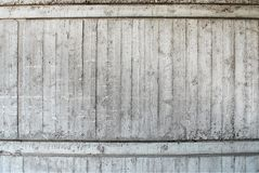 Concrete traces of scarf boards on the wall royalty free stock photo