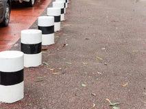 Concrete traffic pole. Royalty Free Stock Photo