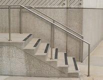 Concrete treden Stock Foto's