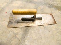 Concrete Trowel stock images
