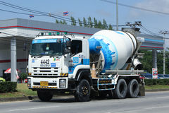 Concrete truck of CPAC Concrete product company. Stock Photo