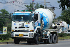 Concrete truck of CPAC Concrete product company. Stock Image