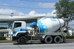 Concrete truck of CPAC Concrete product company. Royalty Free Stock Images