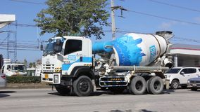 Concrete truck of CPAC Concrete product company. stock video