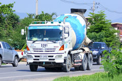 Concrete truck no.3201 of CPAC Royalty Free Stock Photos