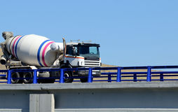 Concrete truck Royalty Free Stock Photos