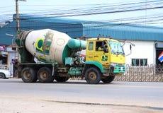 Concrete truck Stock Image