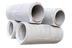 Concrete tubes Royalty Free Stock Photos