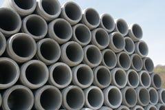 Concrete tubes Stock Image