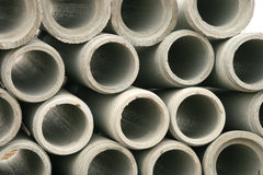 Concrete Tubes Royalty Free Stock Images