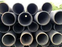 Concrete tubes Royalty Free Stock Photo