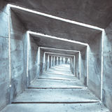 Concrete tunnel Royalty Free Stock Photography