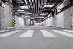 Concrete underground road Stock Photography