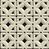 Concrete vent. Seamless pattern for background Royalty Free Stock Photos