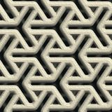 Concrete vent. Seamless pattern Stock Photography